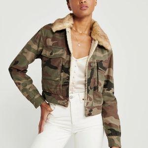 Abercrombie & fitch jacket size xxs